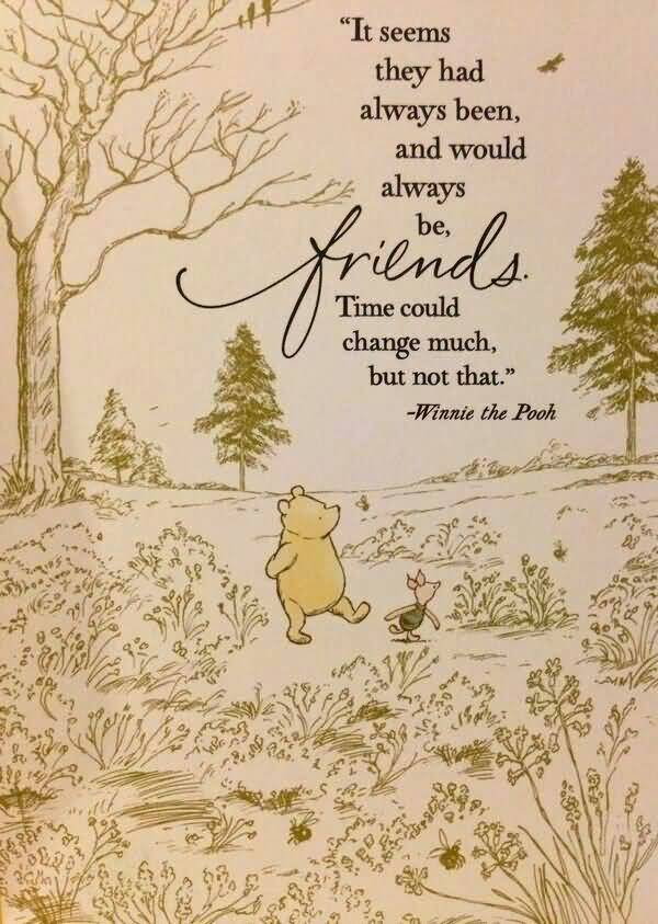 Quotes From Winnie The Pooh About Friendship 16