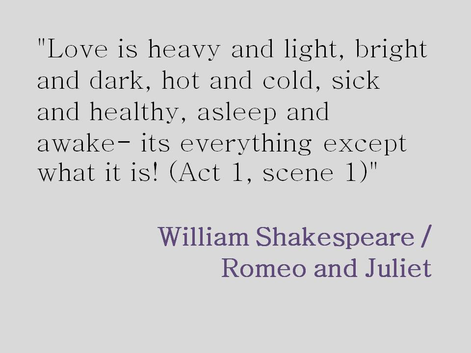 Quotes In Romeo And Juliet About Love 14