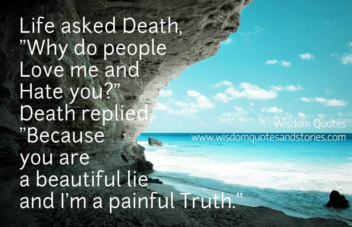 20 Quotes Of Life And Death Sayings With Pictures Quotesbae