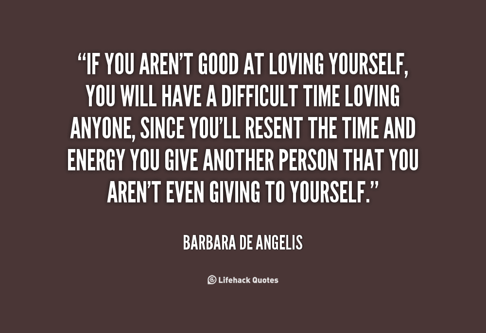 Quotes Of Loving Yourself 07