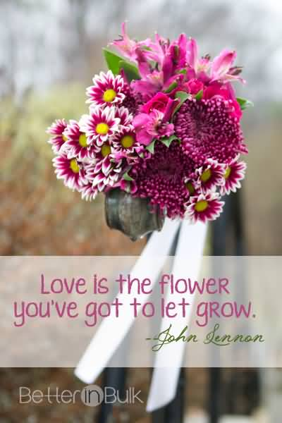 20 Quotes On Flowers And Love Sayings Photos | QuotesBae