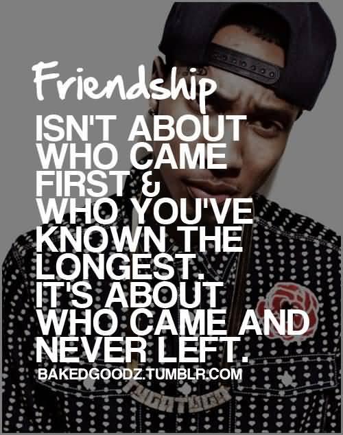 Rap Quotes About Friendship 14