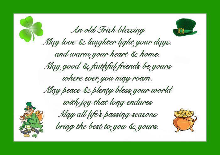 St. Patrick's Day Poems 02