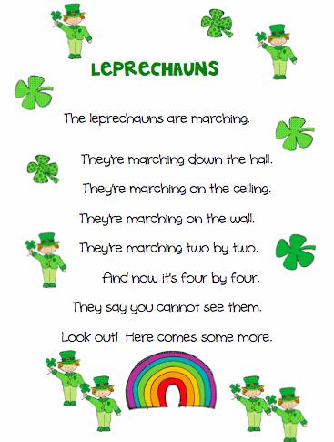 St. Patrick's Day Poems 04