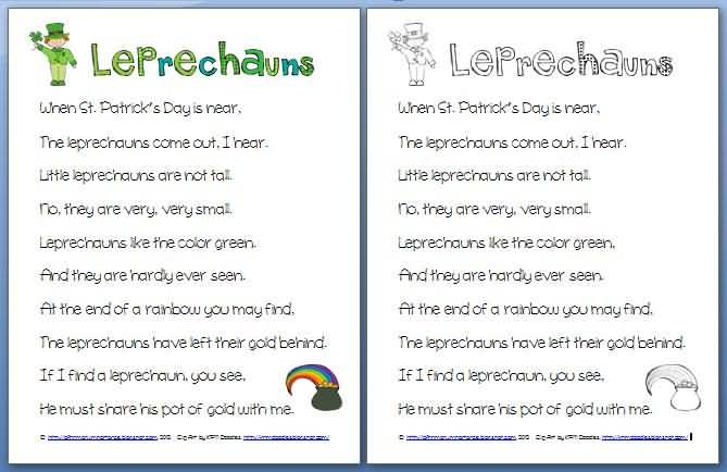 St. Patrick's Day Poems 07