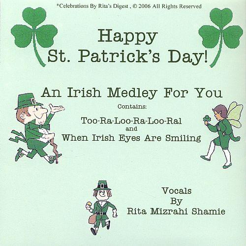 St. Patrick's Day Poems 08