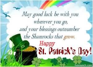 St. Patrick's Day Poems 10