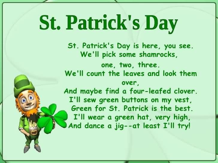 St. Patrick's Day Poems 11