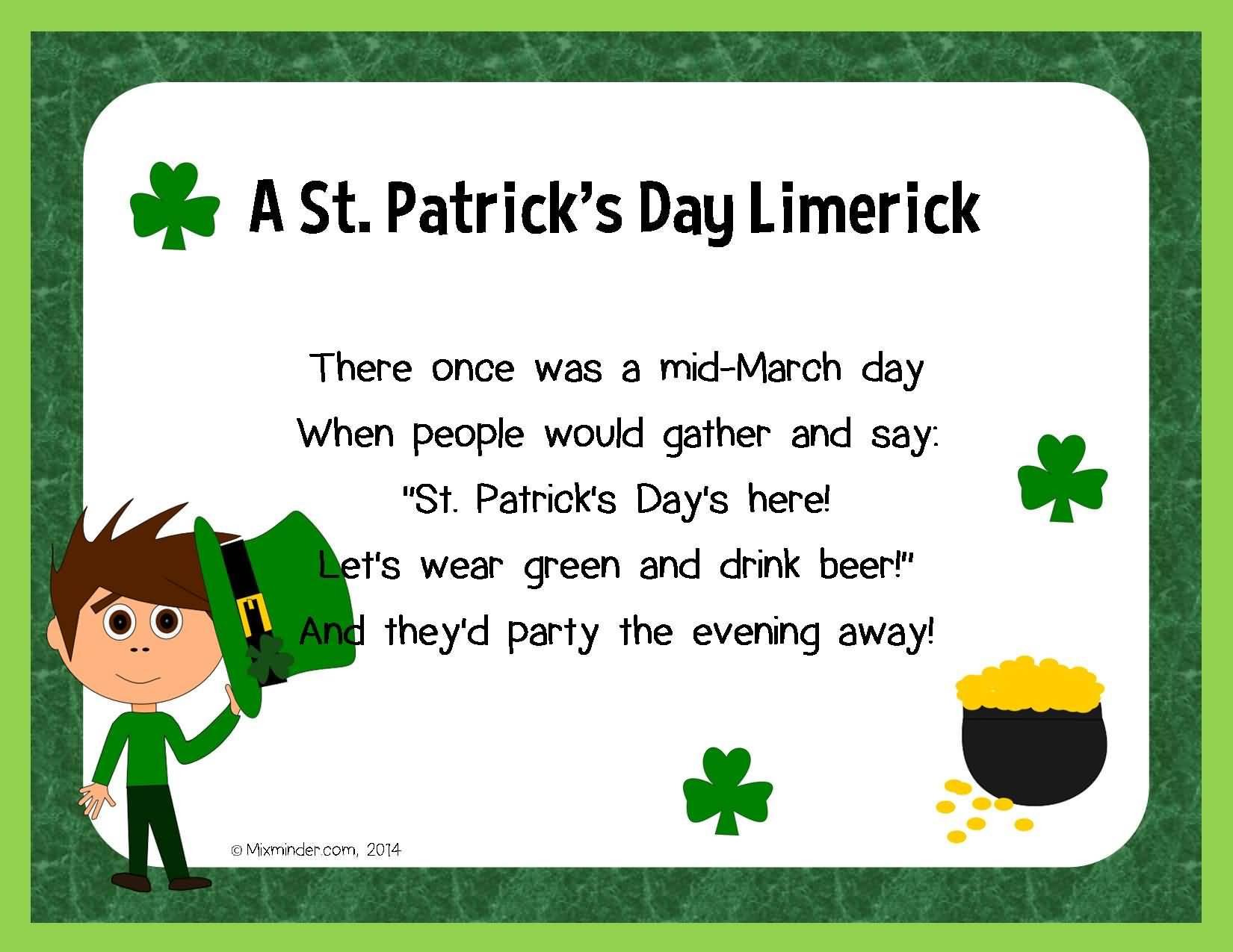 St. Patrick's Day Poems 12
