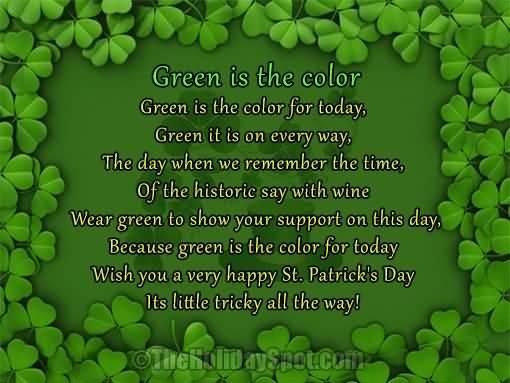St. Patrick's Day Poems 17