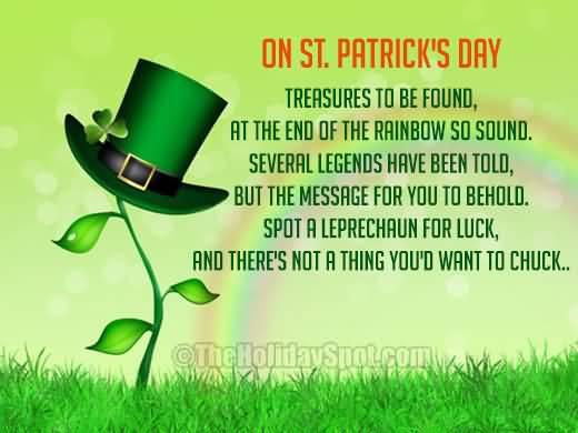 St. Patrick's Day Poems 19