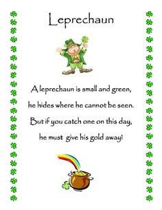 St. Patrick's Day Poems 20 St. Patrick's Day Poems
