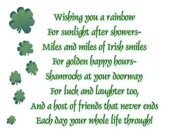 St. Patrick's Day Poems 22