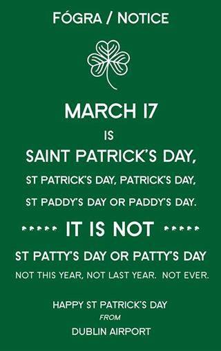 St. Patrick's Day Poems 27