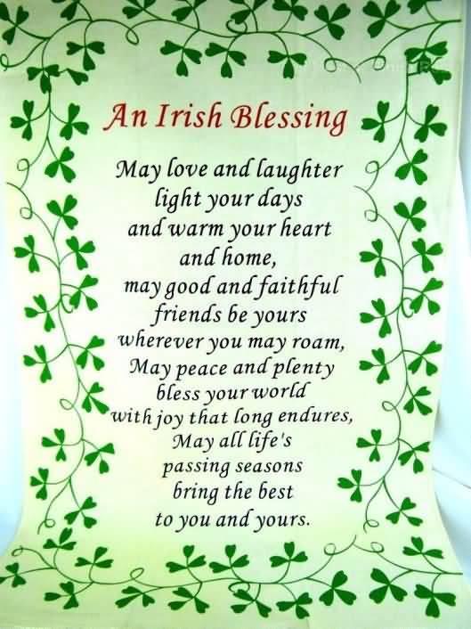 St. Patrick's Day Poems 30
