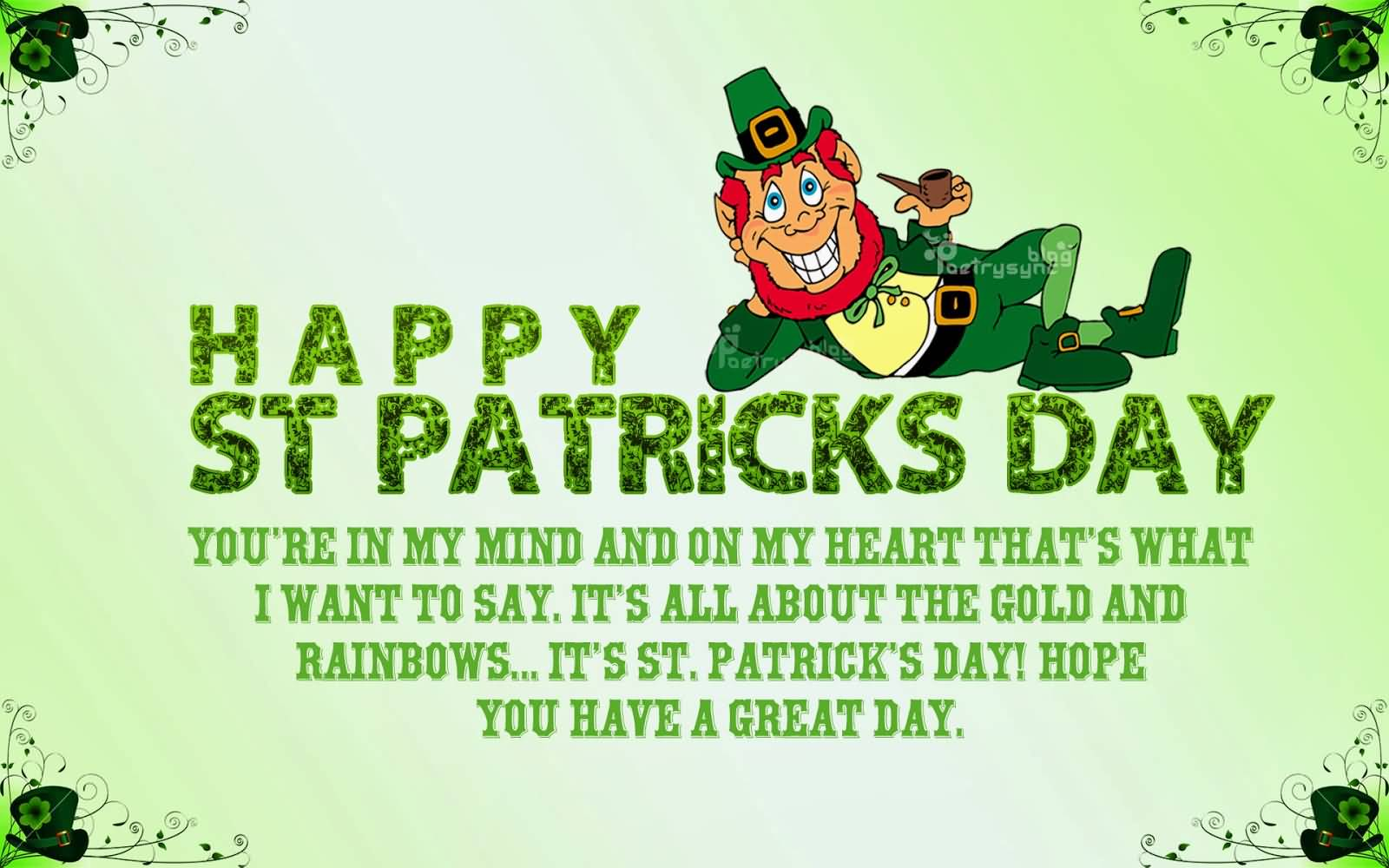 St. Patrick's Day Wish 06