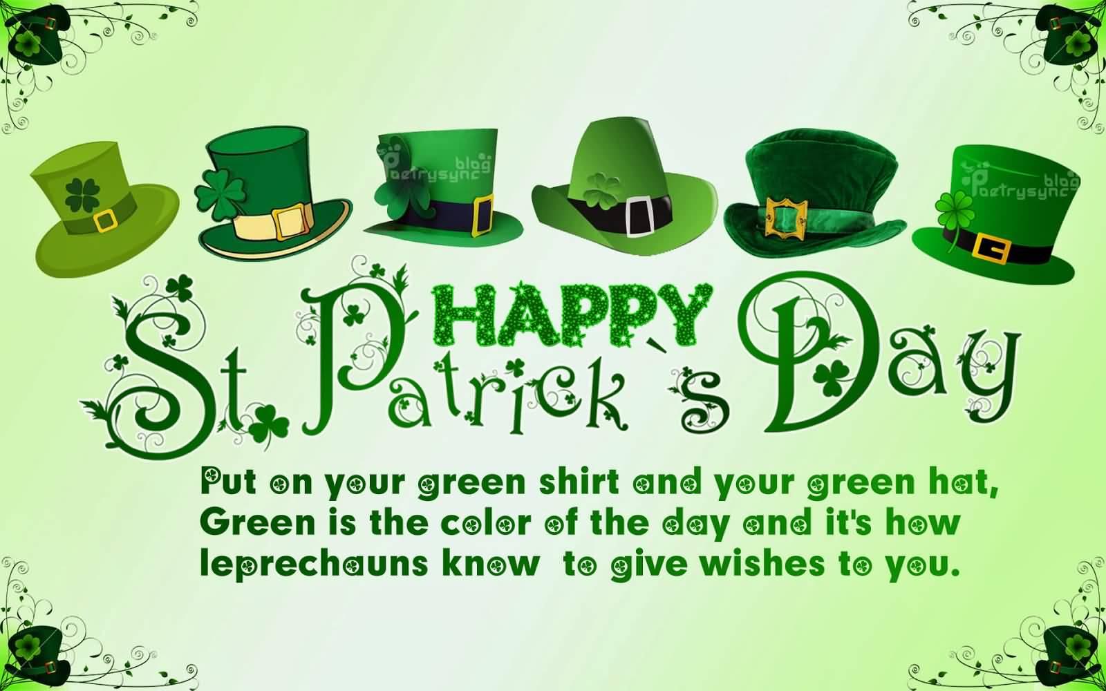 St. Patrick's Day Wish 07