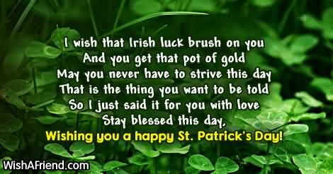 St. Patrick's Day Wish 19