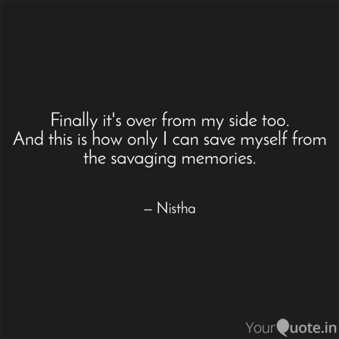 Finally Its Over Quotes Image 09