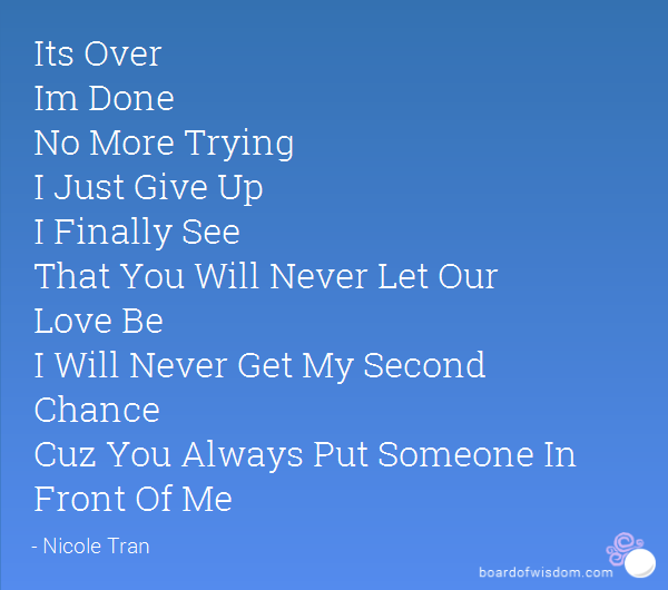Finally Its Over Quotes Image 11