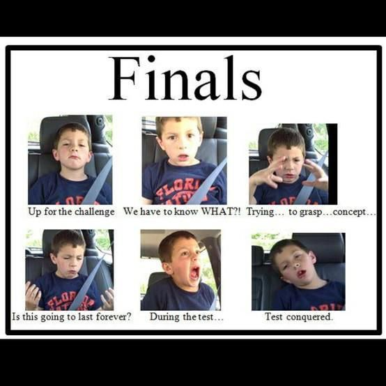 Finals Up For Funny Quotes About Finals Week