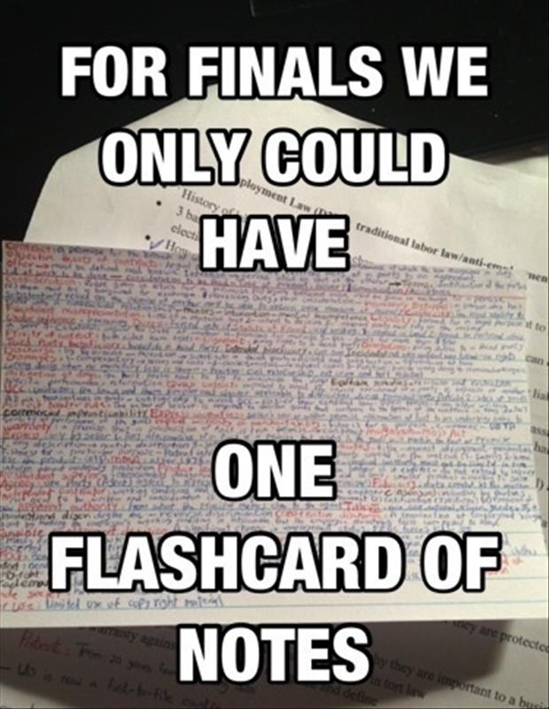 For Finals We Funny Quotes About Finals Week