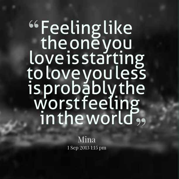 Lost Feelings Quotes Picture 07