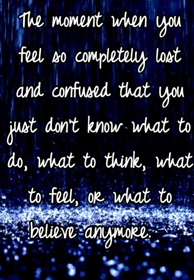 Lost Feelings Quotes Picture 10