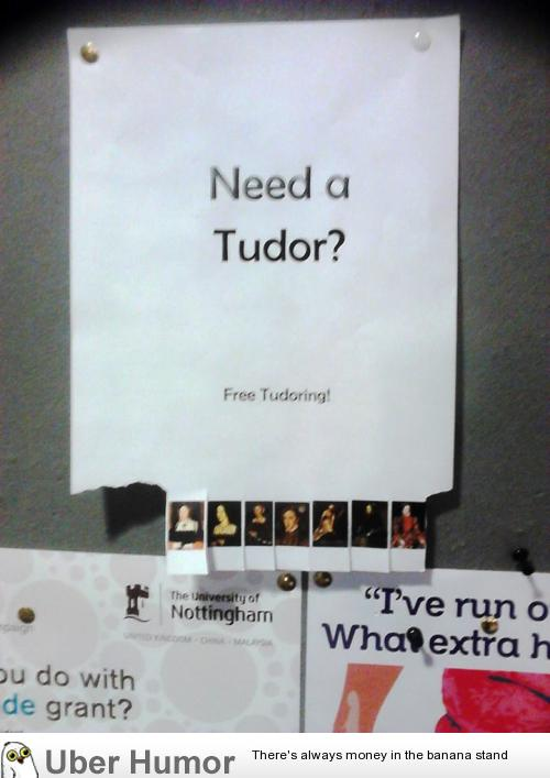 Need A Tudor Funny Quotes About Finals Week