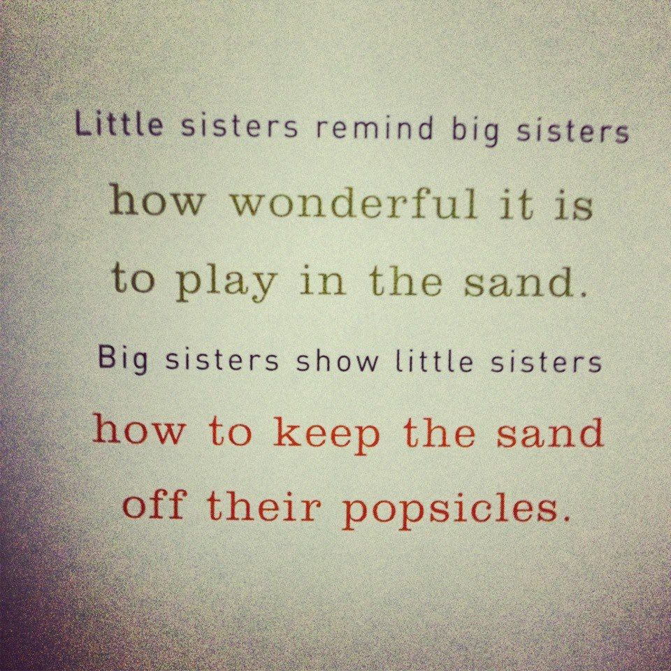 Quotes About Little Sisters And Big Sisters Image 05