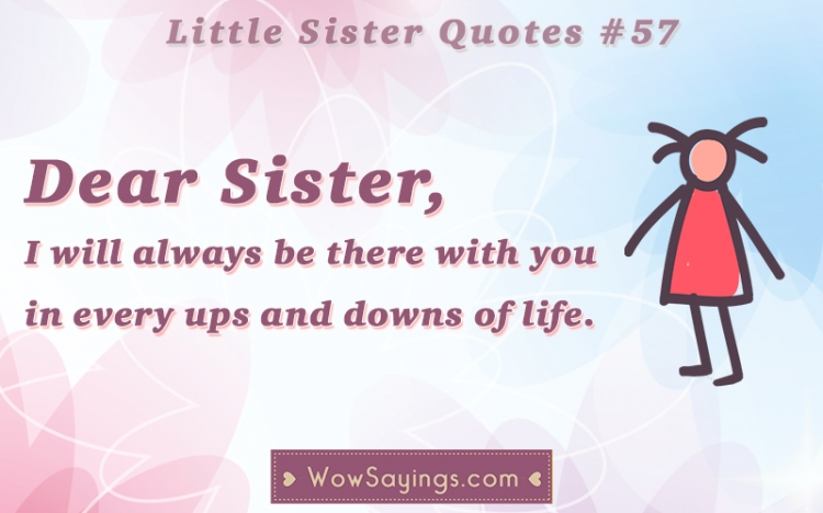 Quotes About Little Sisters And Big Sisters Image 10