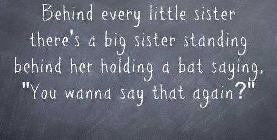 Quotes About Little Sisters And Big Sisters Image 13