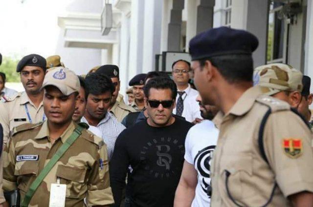 Salman Khan Jail Out From Court