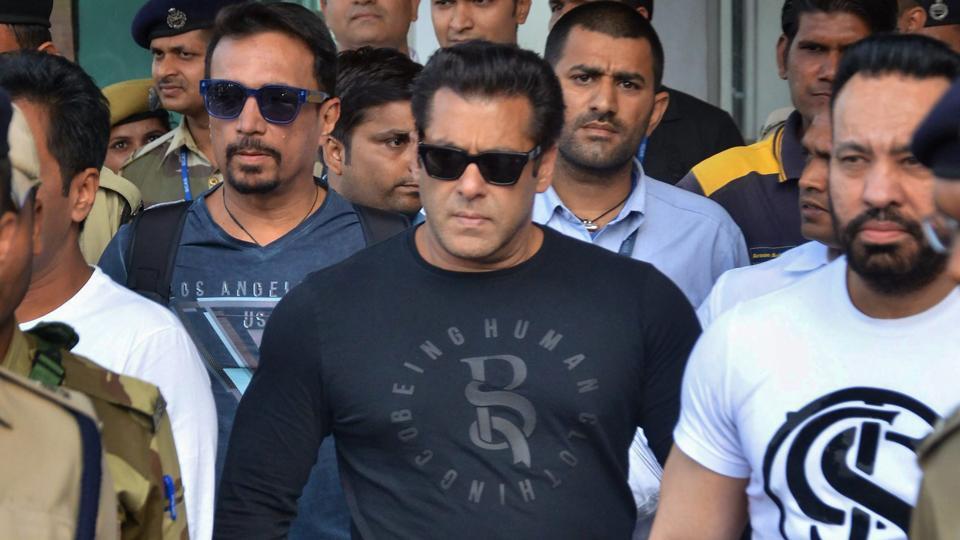 Salman Khan Jail with Security