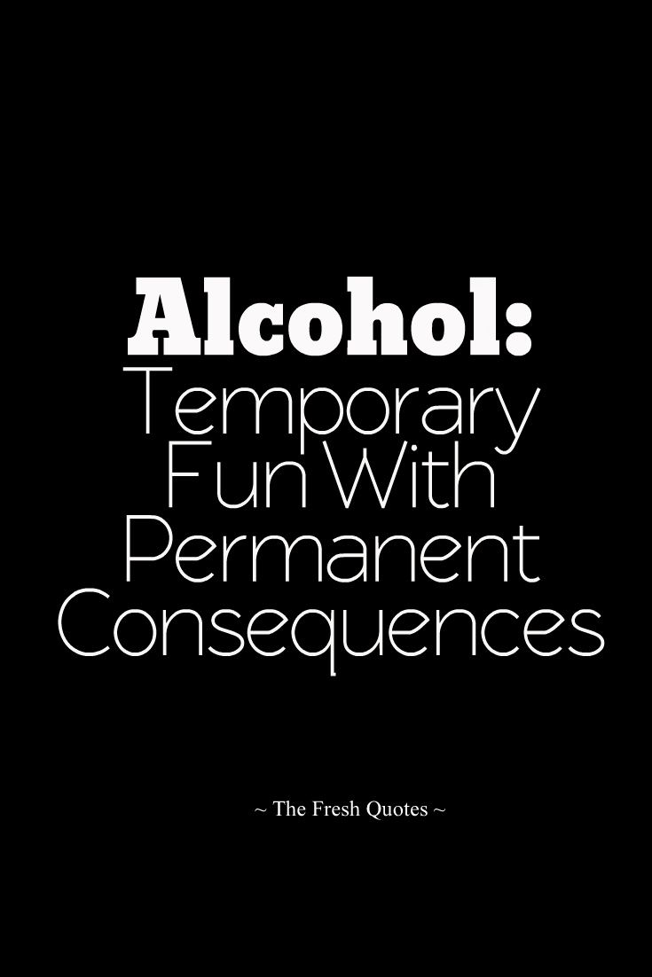 Alcohol Temporary Fun With