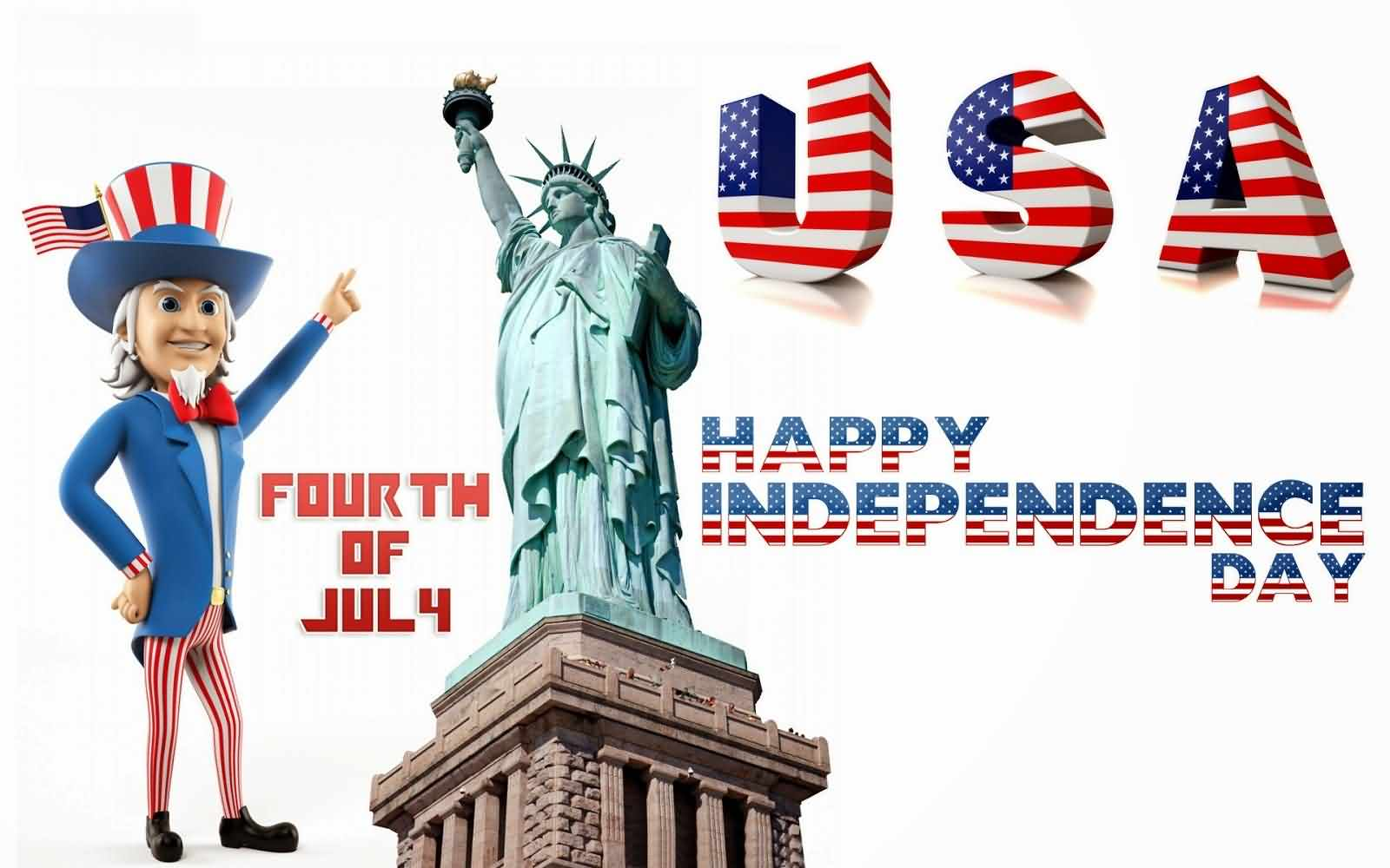 4th Of July Happy Independence Day Wishes Message Image