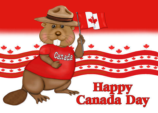 Happy Canada Day Celebrate 1st July Wishes Message Image