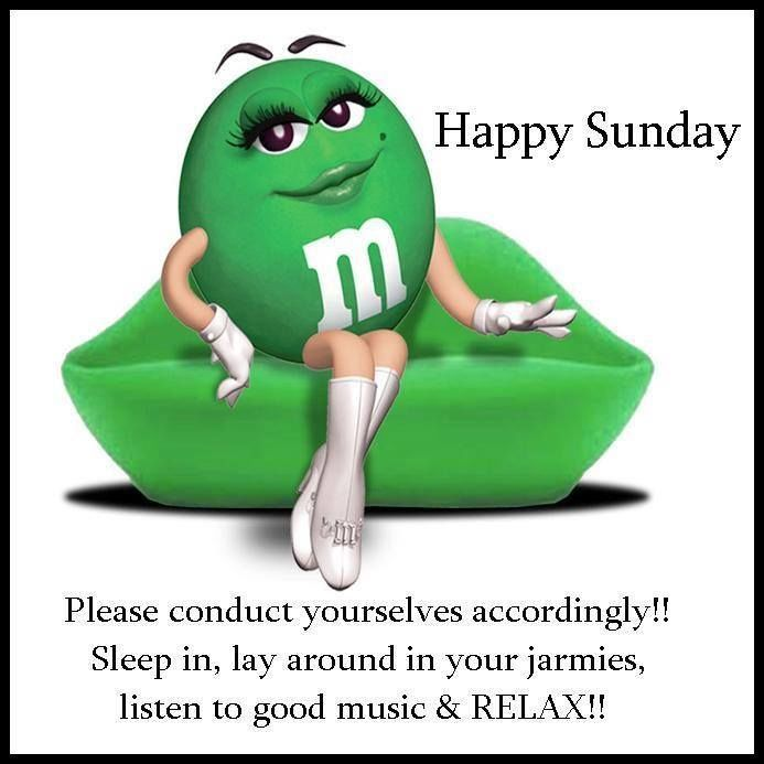 Happy Sunday Please Conduct Yourselves