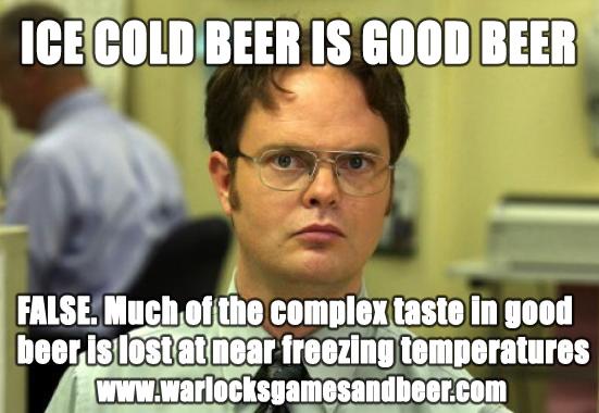 Ice Cold Beer Is Good Beer Craft Beer Meme Photo