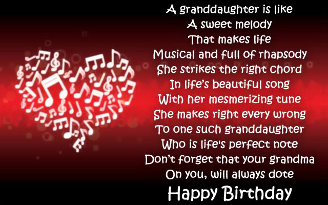 A Granddaughter Is Like A Sweet Sayings About Granddaughters