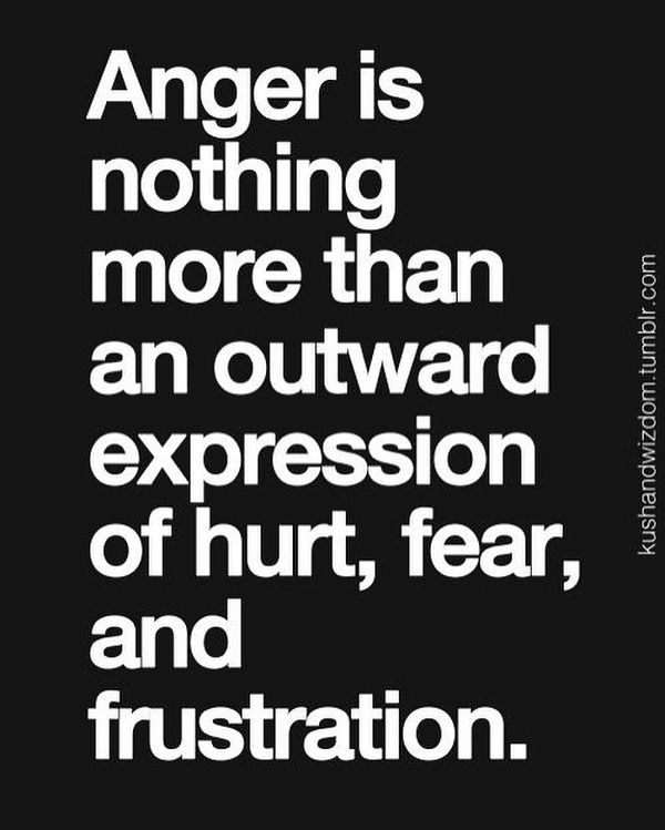 Anger Is Nothing More Husband Hurts My Feelings Quotes