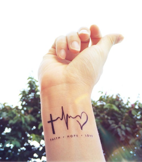 35 Heartbeat Tattoos Designs Ideas Collection Quotesbae