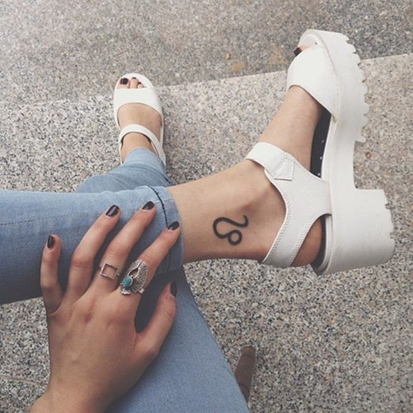 Beautiful Ankle Tattoos Image