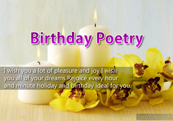 Birthday Poetry I Wish Happy Birthday Principal Poem