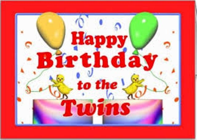 Birthday Wishes For Twins Images Birthday To The Twins