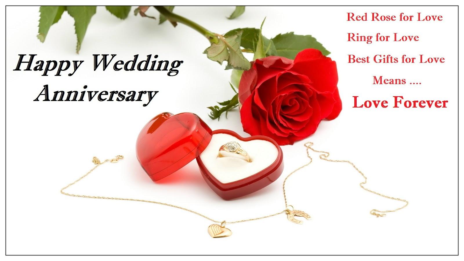 Fabulous Anniversary Wishing Heart