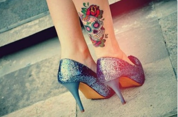 Fantastic Ankle Tattoos Designs Picture
