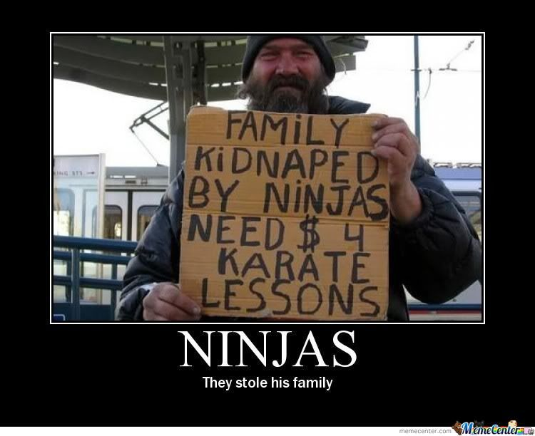 Funny Ninja Memes Ninjas They Stole His Family Picture