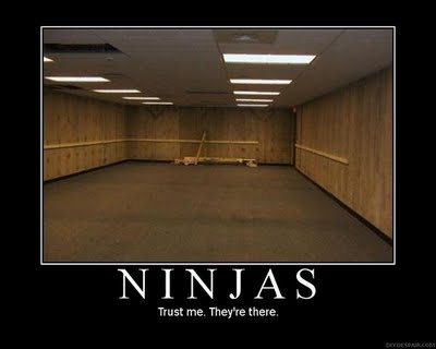 Funny Ninja Memes Ninjas Trust Me They Are There Picture