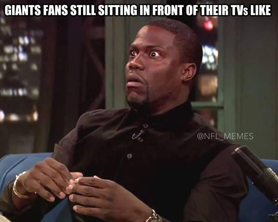 Giants Fans Still Sitting